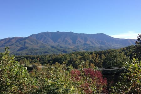 Mtn Comfort,Privacy,Views,WI-FI,Hot Tub,Heart Jac - 盖林柏格(Gatlinburg)
