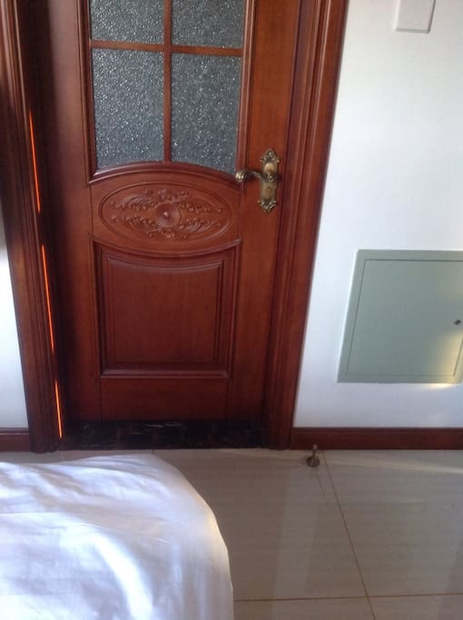 房间带有独立卫生间 方便又隐私