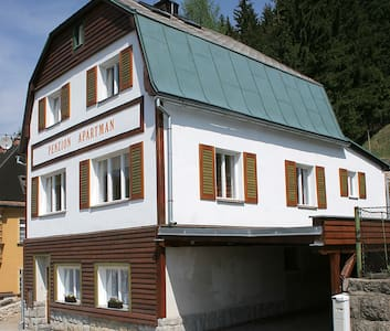 Apartmán 7 v horském městečku Janov - Janov nad Nisou - บ้าน