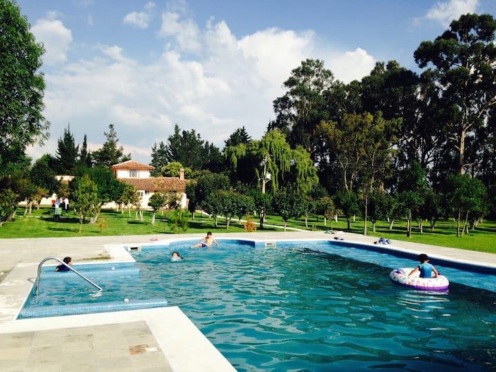 Rancho Los Leones, Jocotitlán, México - Naturaleza