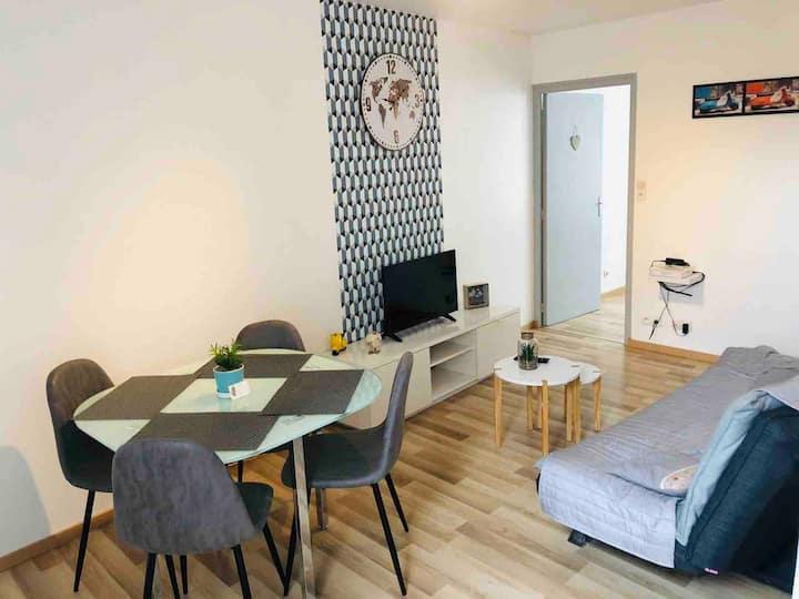 Appartement Aventure au centre ville d' Epernay