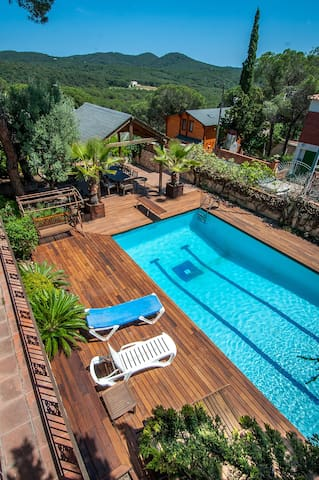 Spectaculaire standing avec piscine - Tordera - Holiday home