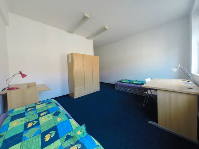 Shared rooms in city center, room 2 - Ústí nad Labem - Apartmen