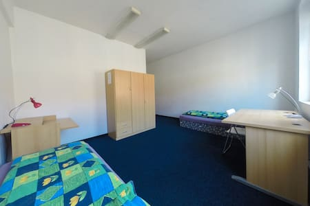 Shared rooms in city center, room 2 - Ústí nad Labem