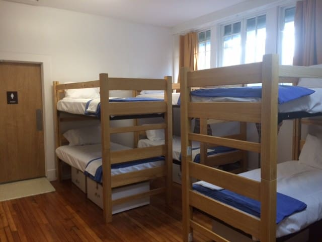 Bed in Female Dorm-Firehouse Hostel & Museum