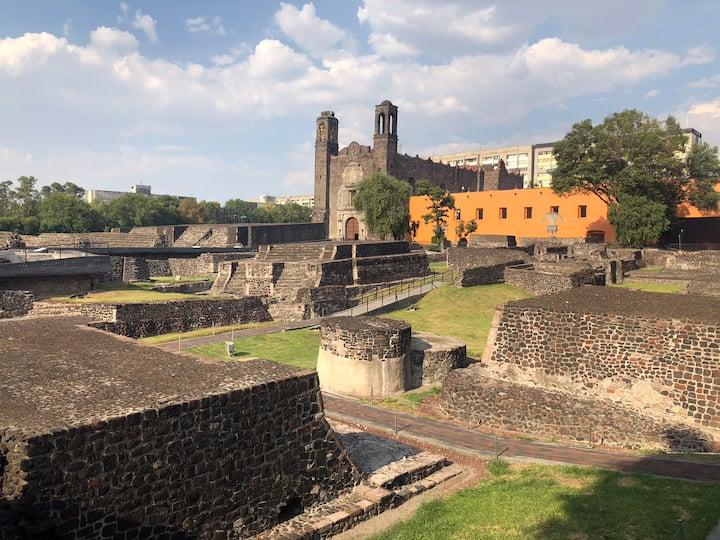 Práctico y cómodo departamento en Tlatelolco