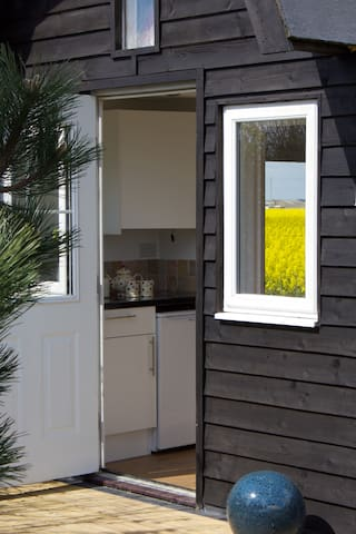 Unique Shepherds Hut Stones Throw To Beach - East Sussex - Kabin