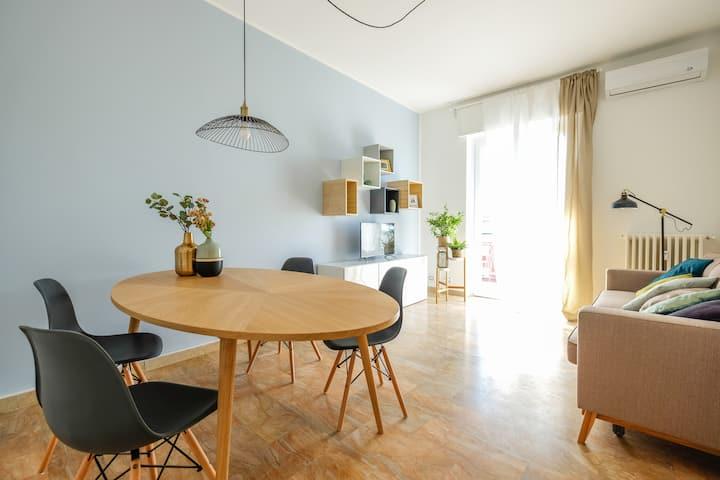 Bright one bedroom apartment in Rozzano