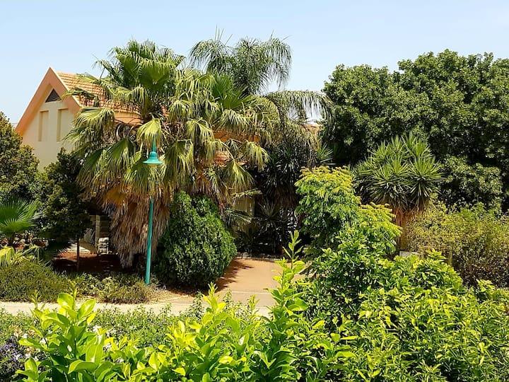 Huge & private villa in Kibbutz Dafna