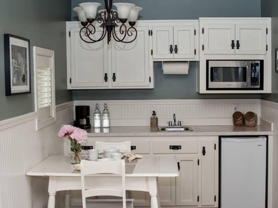 Kitchen area (no stove)