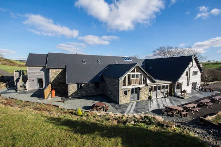 Rhos' on plan Double Room for 4 - Pontarfynach - Haus