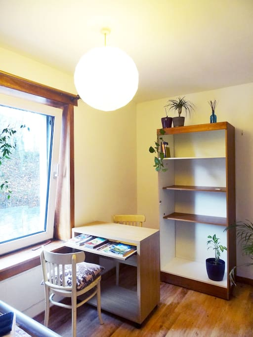 Studying desk and Storage space