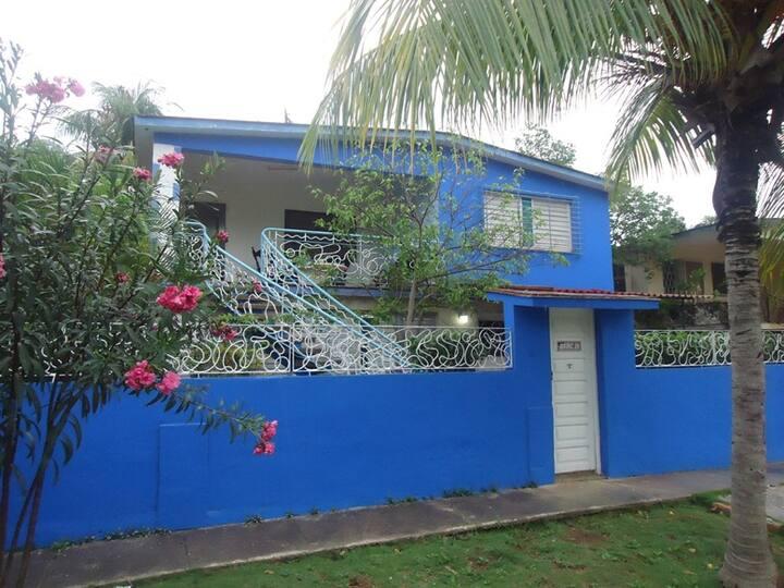 La casa Azul ( Apartamento 1 )