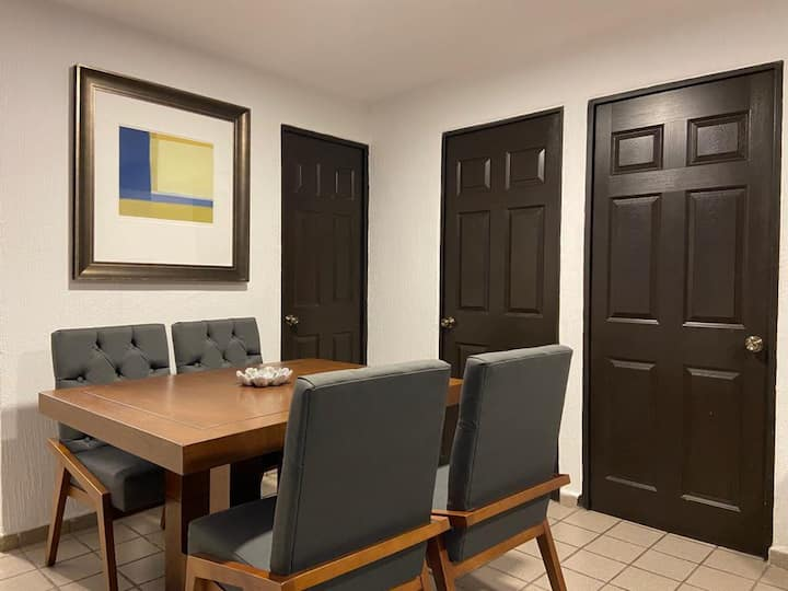 Confortable y moderno departamento nuevo