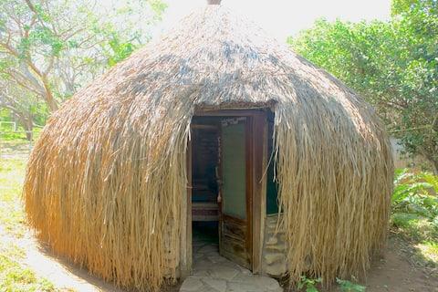 Rustic room at Nhambavale Lakeside Lodge