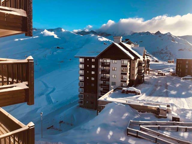 Modern & Private Studio - Valle Nevado Ski Resort