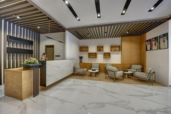 CLASSY & MODERN- BRAND NEW HOTEL- AL BARSHA- DUBAI