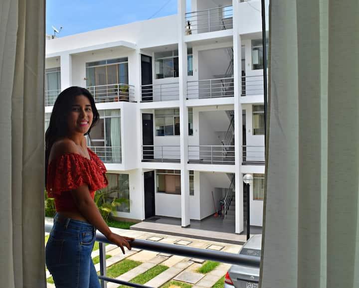 Private Room in exclusive Condominium -Piura