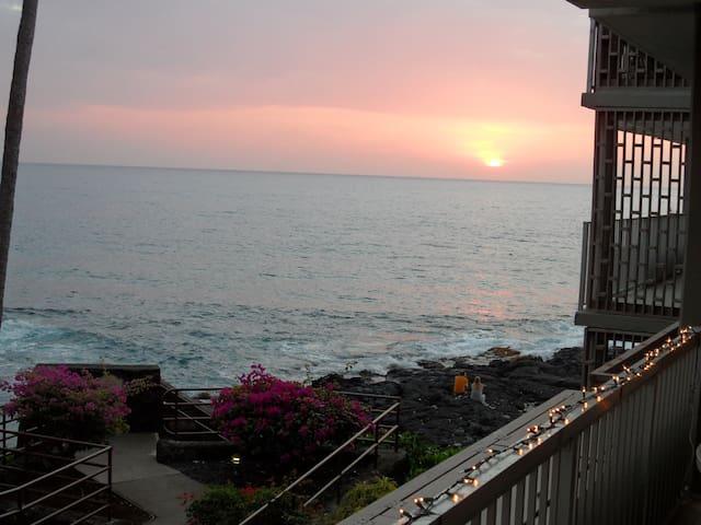 Vacation Condo in Kailua Kona, & Great Ocean views - Kailua-Kona - Condominium