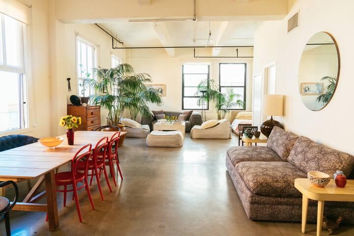Elegant, Light-Filled, Industrial Corner Loft