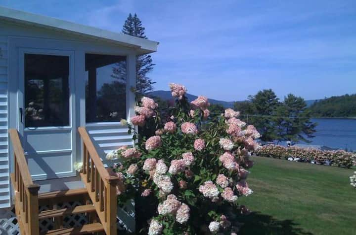 NEWFOUND LAKE Cozy Hideaway Cottage-with wow view!
