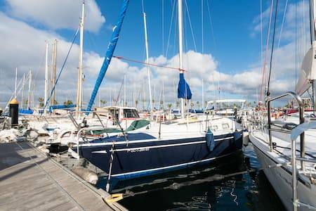 Yacht ready for sailing..Velero. - Las Palmas - Barca