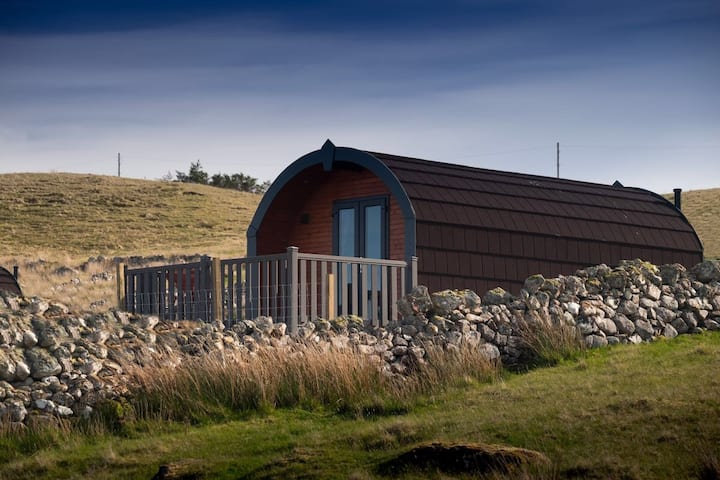 "Luxury Glamping Pod - ""Sulaire"" @ Culkein, Stoer"