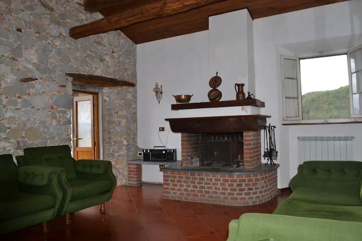 Appartamento in villa del '600 in Garfagnana - Ceserana - อพาร์ทเมนท์
