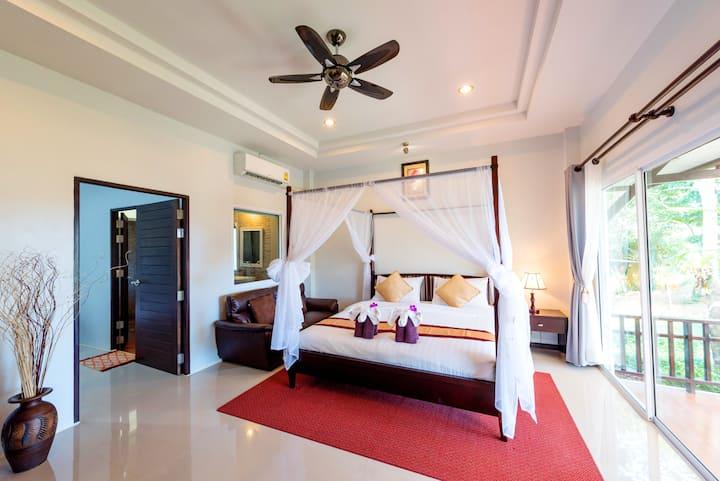 """2 Bedroom Garden View Villa + Breakfast """"Phutara"""""""