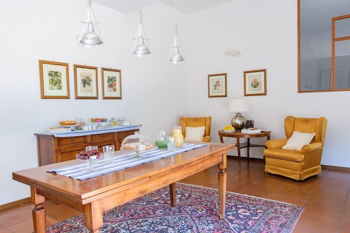 b & b in a villa in the green grey room - Citta' Sant'Angelo - Bed & Breakfast