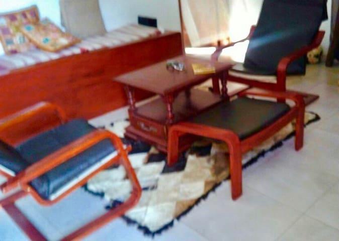 Appartement: bel F1 de 40 m2 équipe - Ngaparou - Apartament