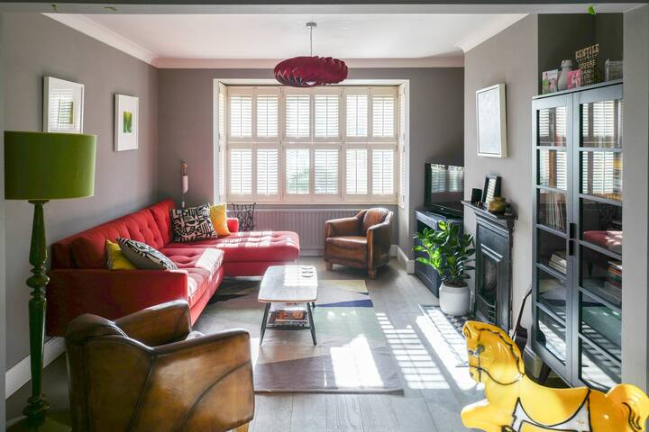 Spacious family home in historic Lewes