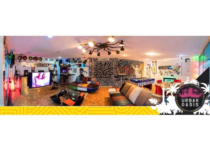 Urban Private Room Capsule para una persona
