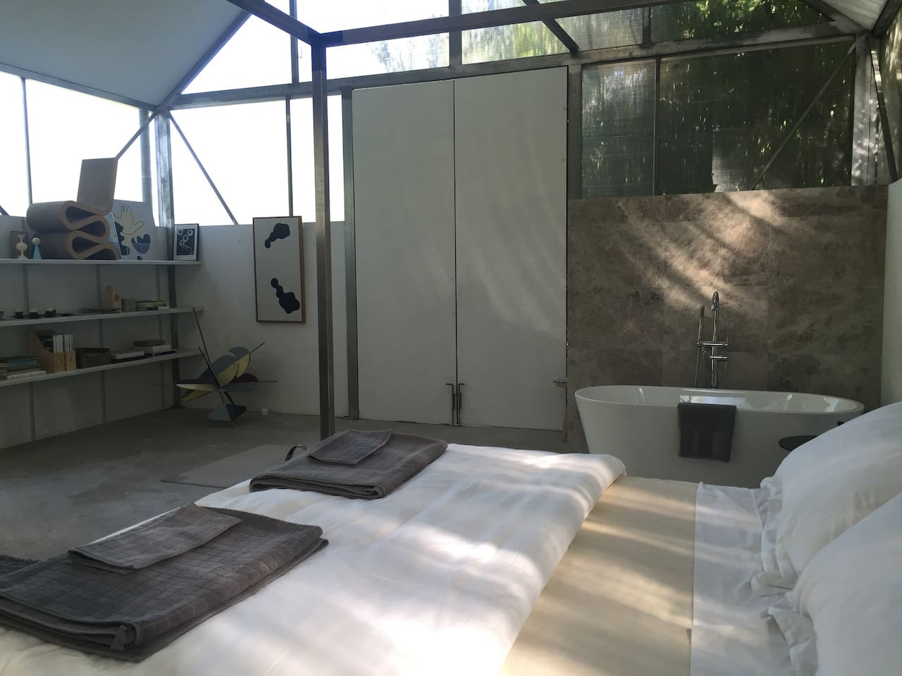 unique contemporary country studio guesthouse for rent in moss