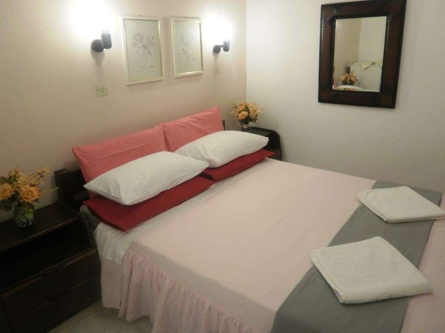 Double room, double bed