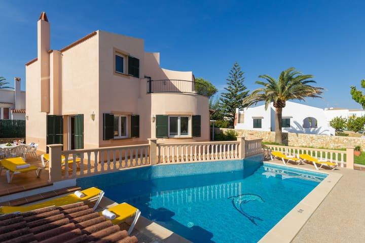 Menorca Villa Janer Anglada - Cala Blanca - Villa