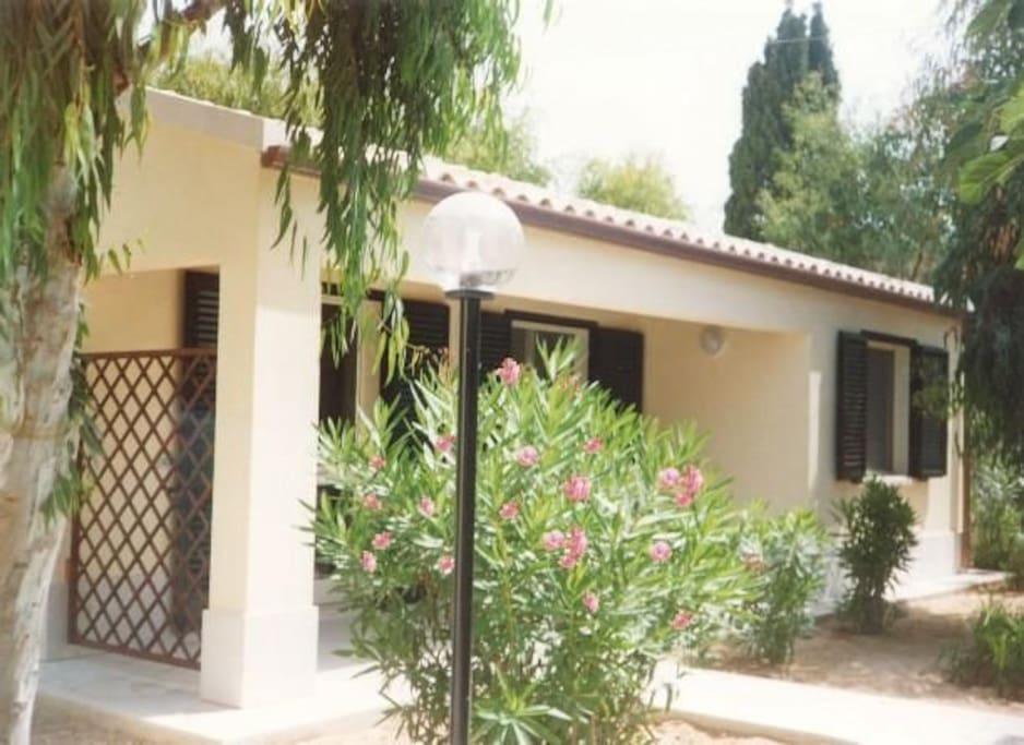 Beispiel Bungalow / Example bungalow