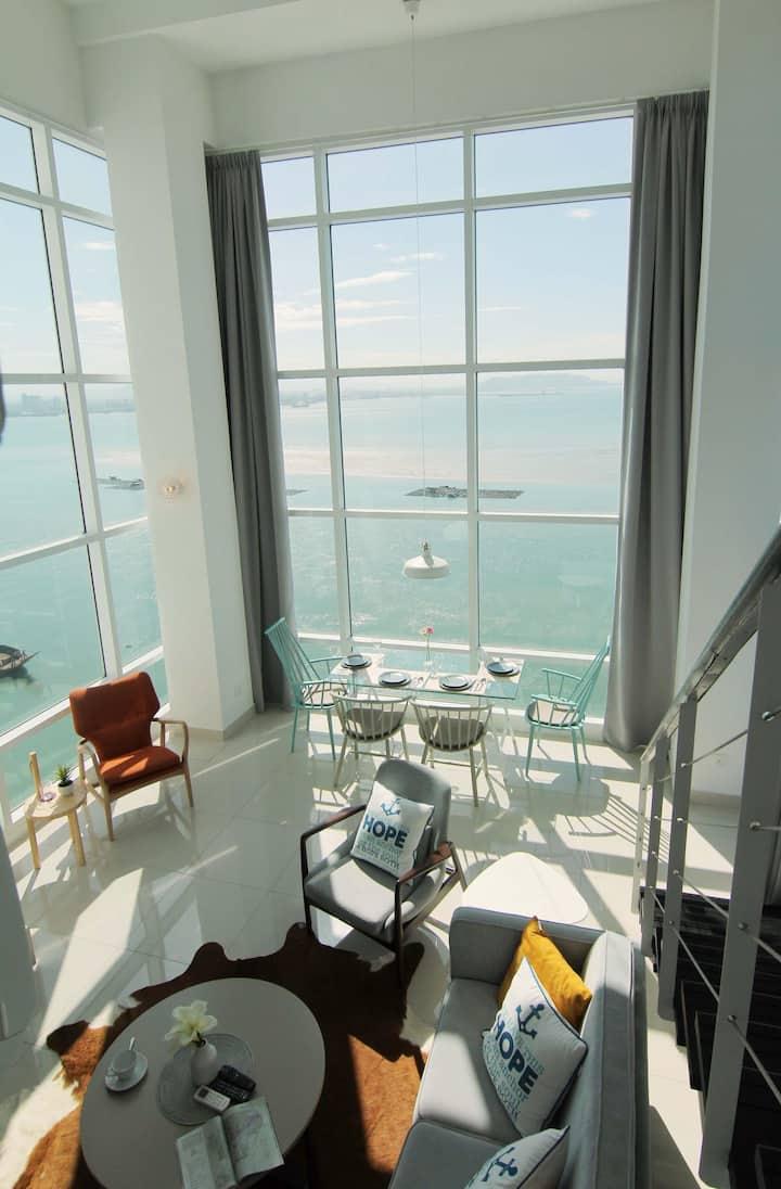Maritime Full Seaview Duplex Suites ^无敌全海景~