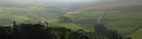 Best views in Pennines, comfortable cottage