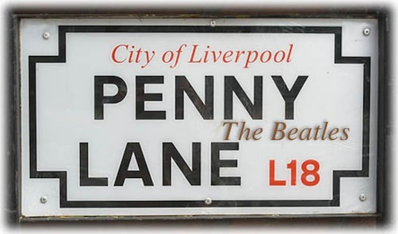 Beatles Inspired Room Penny Lane Area