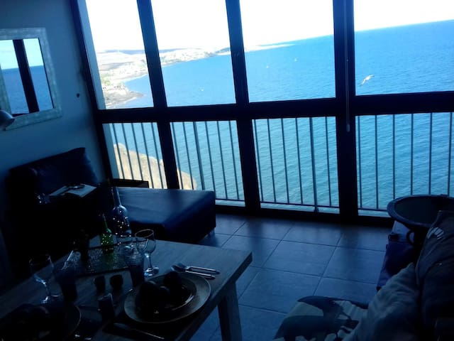AFSuite★★★★★Breathtaking Sea Views♡XXLBed☆Ozone☆