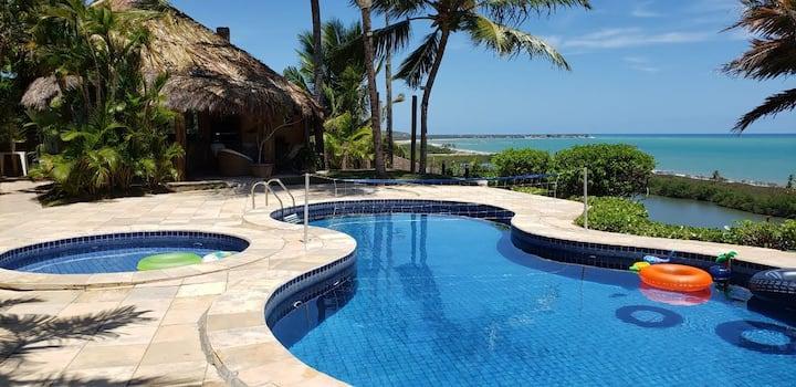 Casa Praia Nordeste/ Litoral Sul Alagoas/ Coruripe