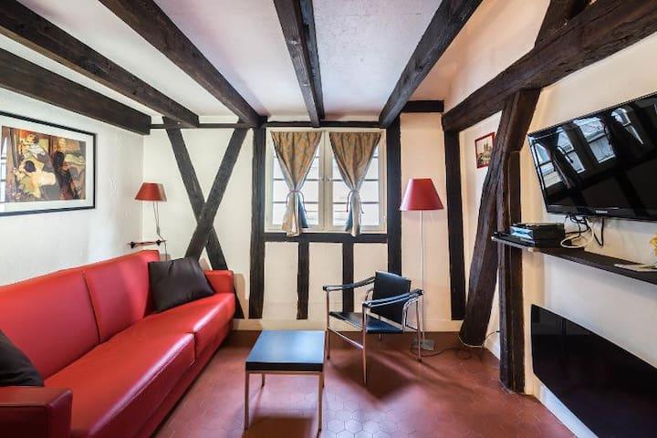 Saint Paul - Miron authentic studio - Paris - Apartamento