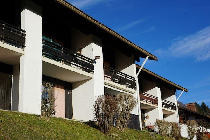 Gemütliche 2Zi.-Wohnung. Bergblick - Oberstaufen - Appartement
