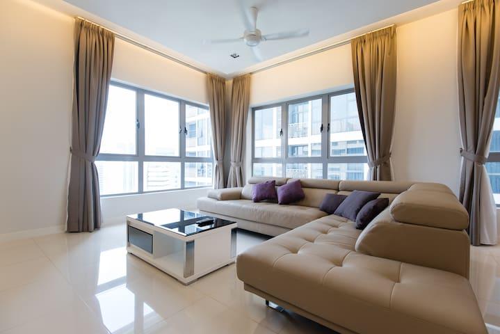 Kuala Lumpur City Center Urban Residence 3bedroom - Kuala Lumpur - Résidence de tourisme