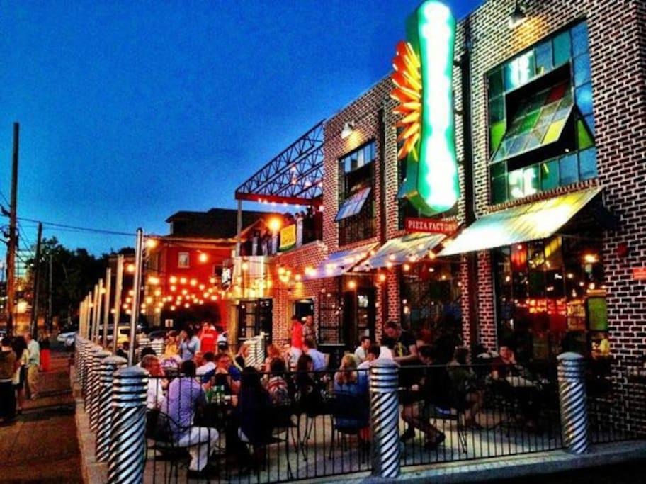 Midtown bar scene just a few blocks away! Winners Bar, Losers Bar, Rebar, Kung Fun, Red Door Saloon, and a ton more!
