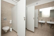 Shared bathroom, newly renovated