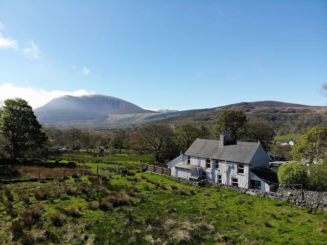 Pengamdda Cottage, Waunfawr, Snowdonia North Wales