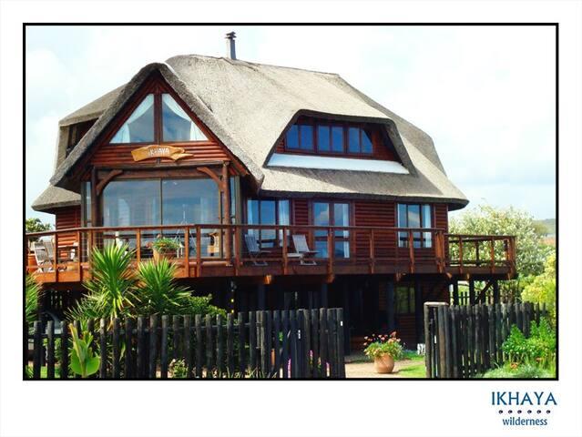 iKhaya Wilderness, entire house overlooking beach