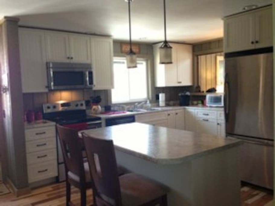 Newly remodeled kitchen has all the tools for serious and budding chefs